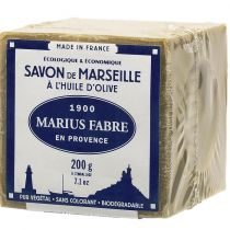 Savon de Marseille Marius Fabre 72 % à l'huile d'Olive - 200 g