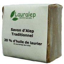 Savon d'Alep traditionnel 200 g Lauralep