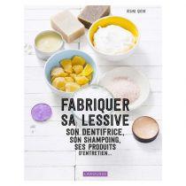 """Livre """"Fabriquer sa lessive, son dentifrice, son shampoing, ses produits d'entretien..."""" par Régine Quéva - Page de couverture"""