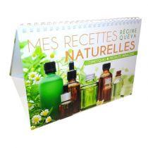 Livre de recettes de cosmétiques et de produits d'entretien naturels