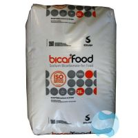 Bicarbonate 25 kg Solvay FCC qualité alimentaire recto