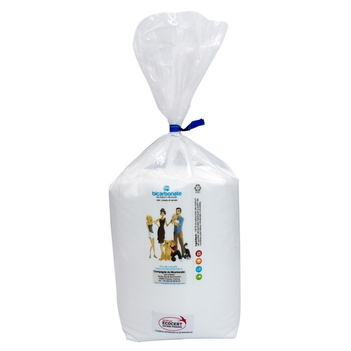 Bicarbonate alimentaire EXTRA-FIN - Sachet Open-Up 1 kg