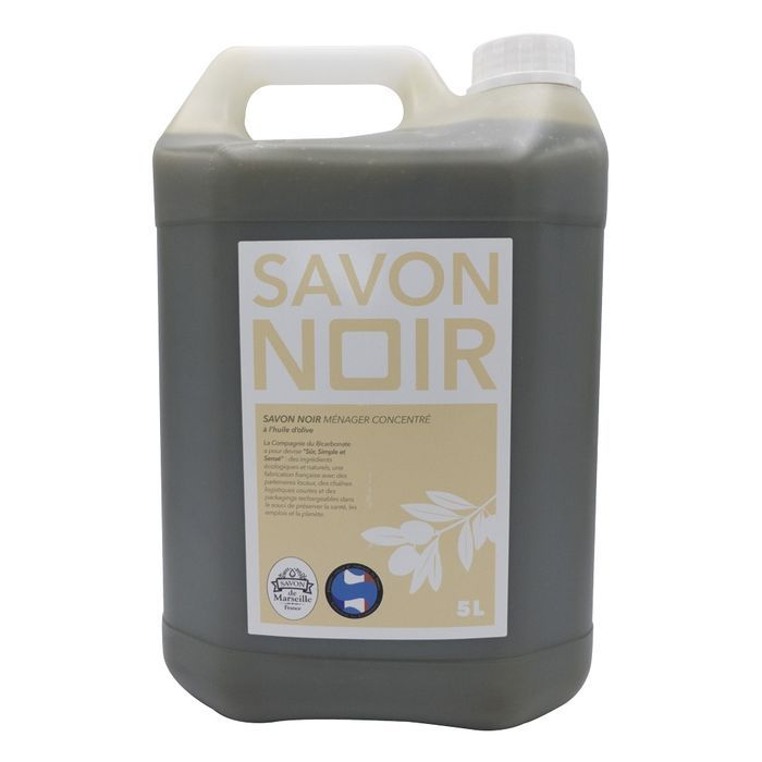 Savon noir 100% olive 5 litres°- Spray rechargeable 750 ml