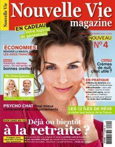 Couverture Nouvelle Vie Magazine sept oct 14