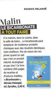 Livre bicarbonate Nicolas Palangié Top Santé Avril 2015