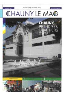 Page de couverture de Chauny Mag - septembre 2017